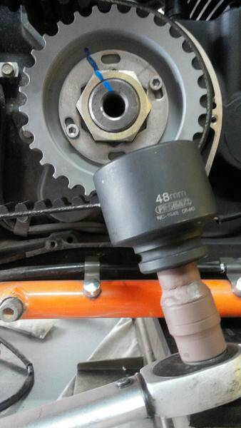 underdrive pulley install - Victory Forums - Victory