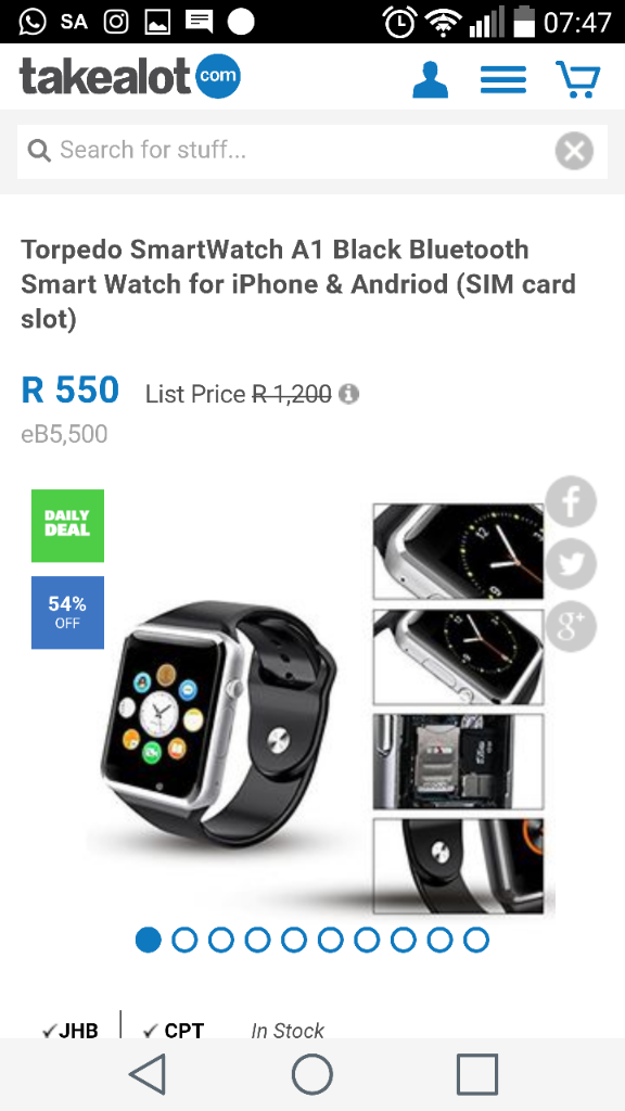 Just Seen This On Daily Deals Mtakealot ProductidPLID43773665