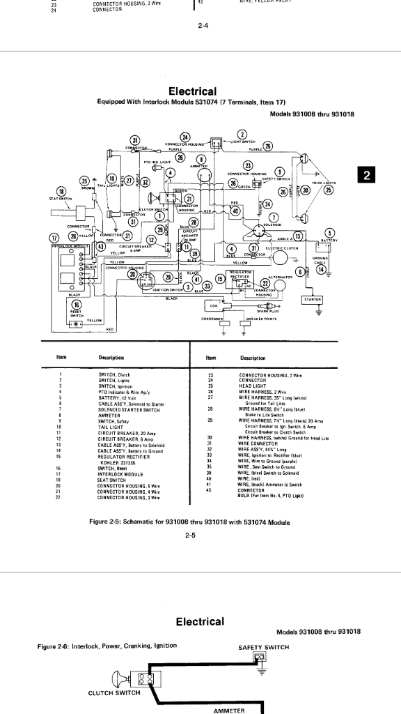 bypassing the old transistor circuit board   i think  ariens gt 16 - page 2