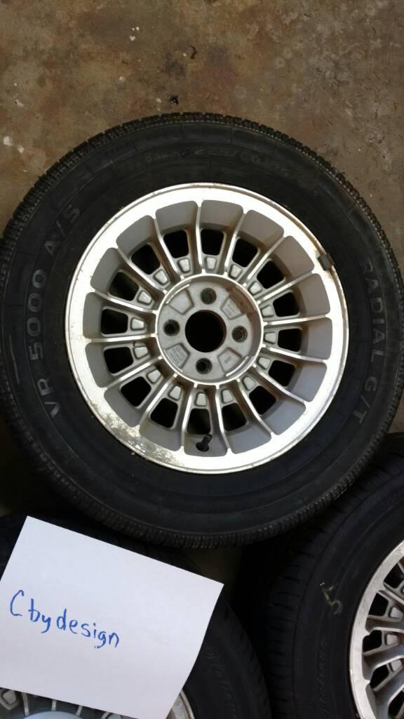 FS: 5 Foxbody Turbine Wheels