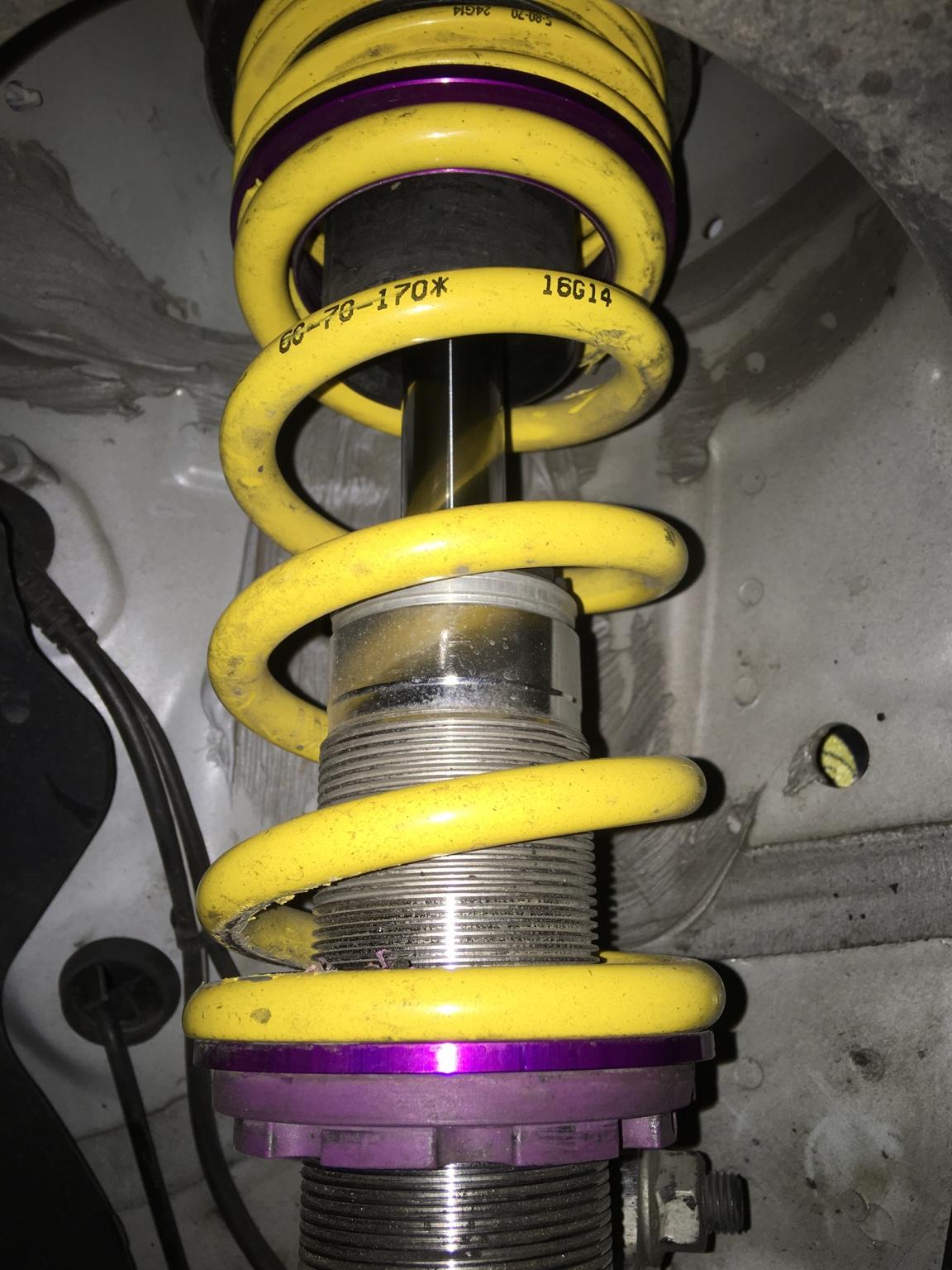3.0 TDI Quattro Bilstein B3 Rear Coil Spring Audi A4 171 kW 8Ec, B7