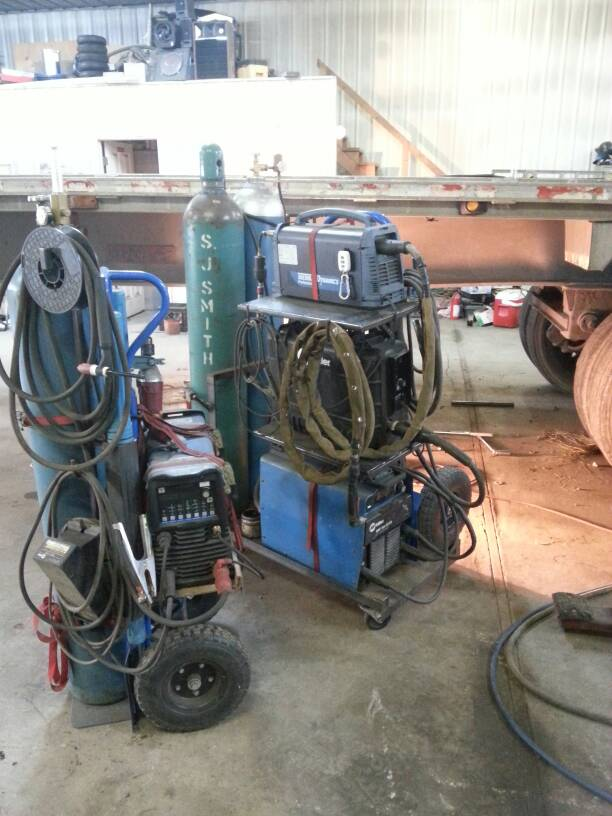 welding cart    ideas space saving
