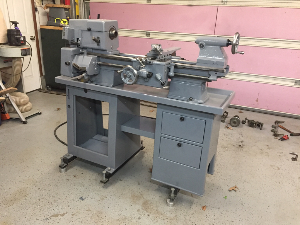 Clausing 5400 Lathe Restoration [Archive] - The Garage