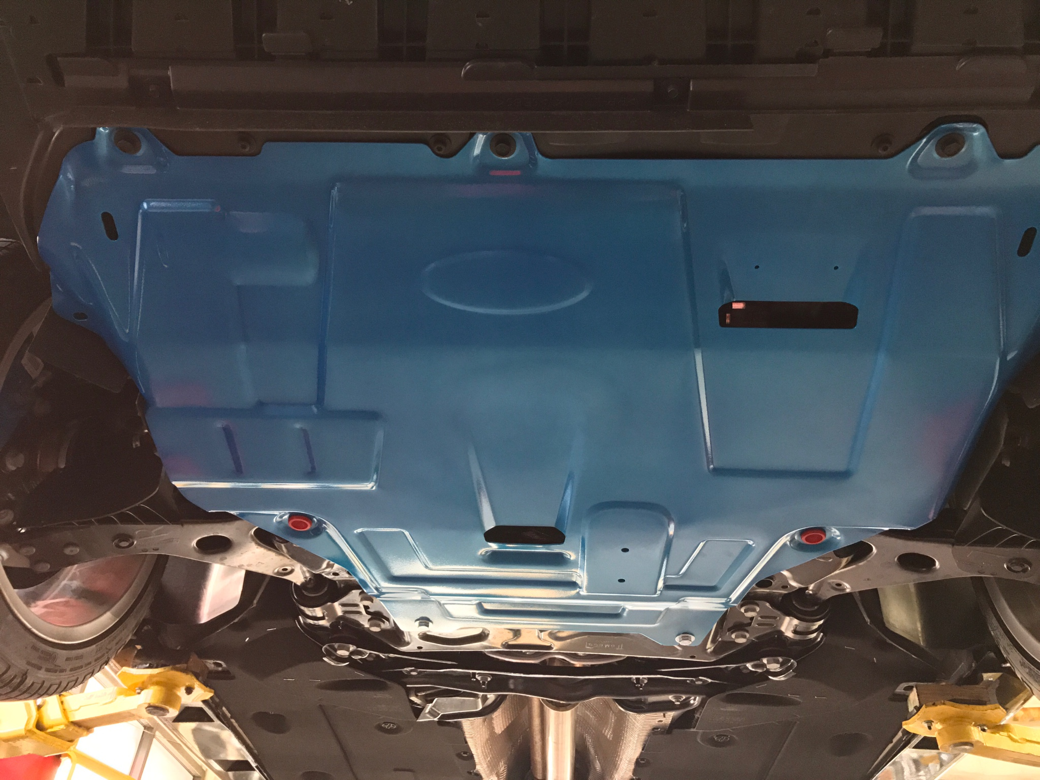 Aluminum Skid plate (Winter driving) - Page 19