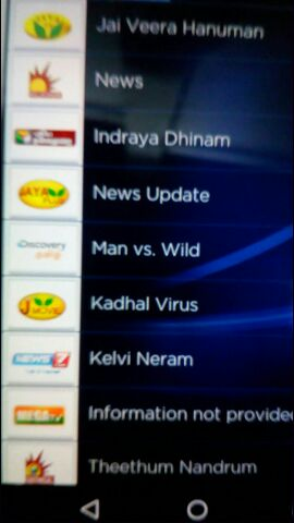 EntMnt Xclusive - 5 tamil channels added on Tata Sky Mobile