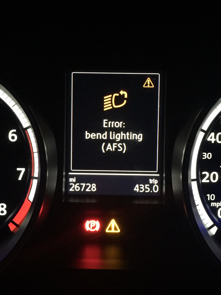 Issues - stop/start and cornering lights - VW Golf R MK7