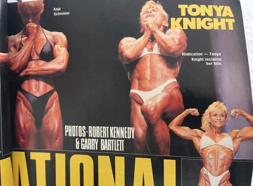 1991 Ms. International Arnold Classic Winner, Tonya Knight Q&A!!! 471a6aed00cf7451296301654421bdab