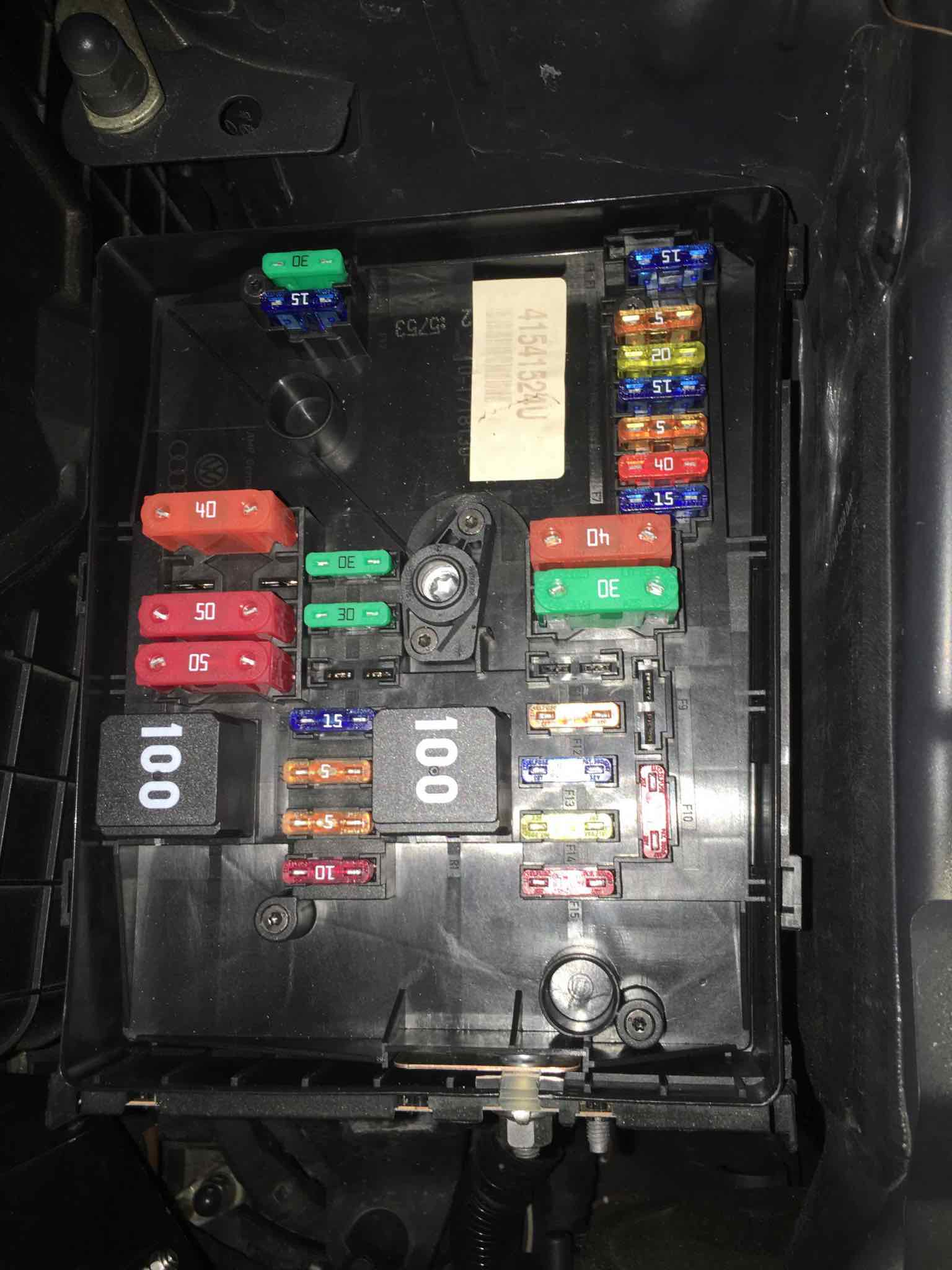 Fuse Box Help    Vw Golf R Forum    Vw