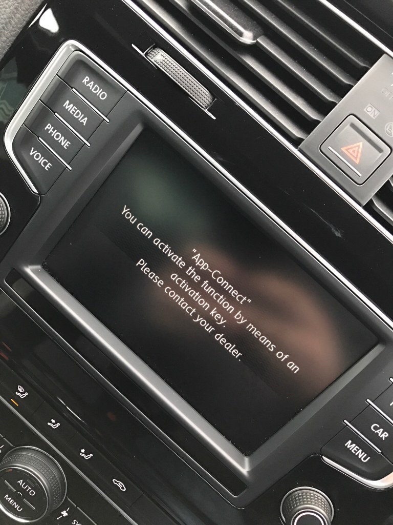 Vw App Connect Activation Key Uk British Automotive