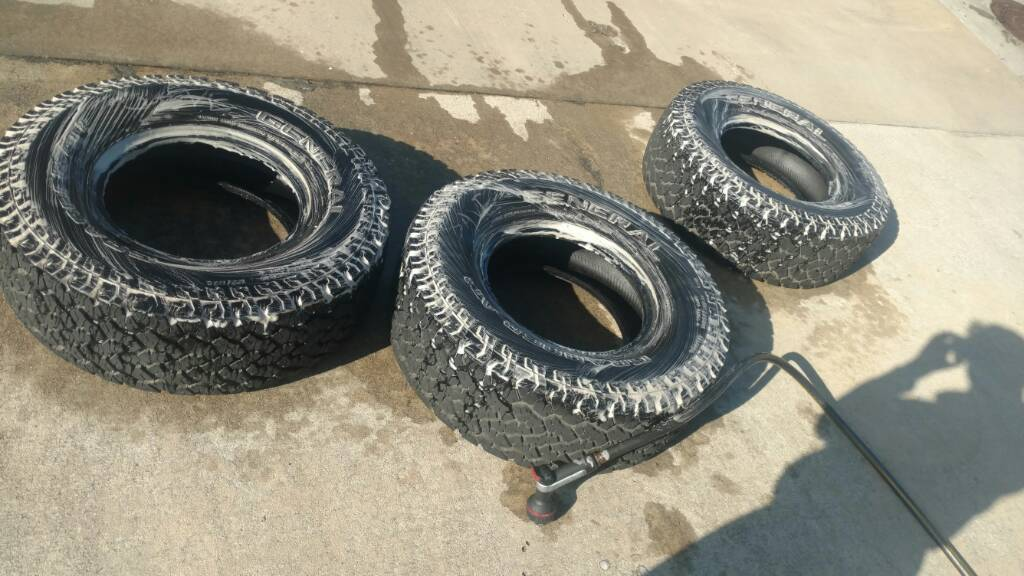 Baked Dirty Old Tires Renew Mj Tech Diy Projects And