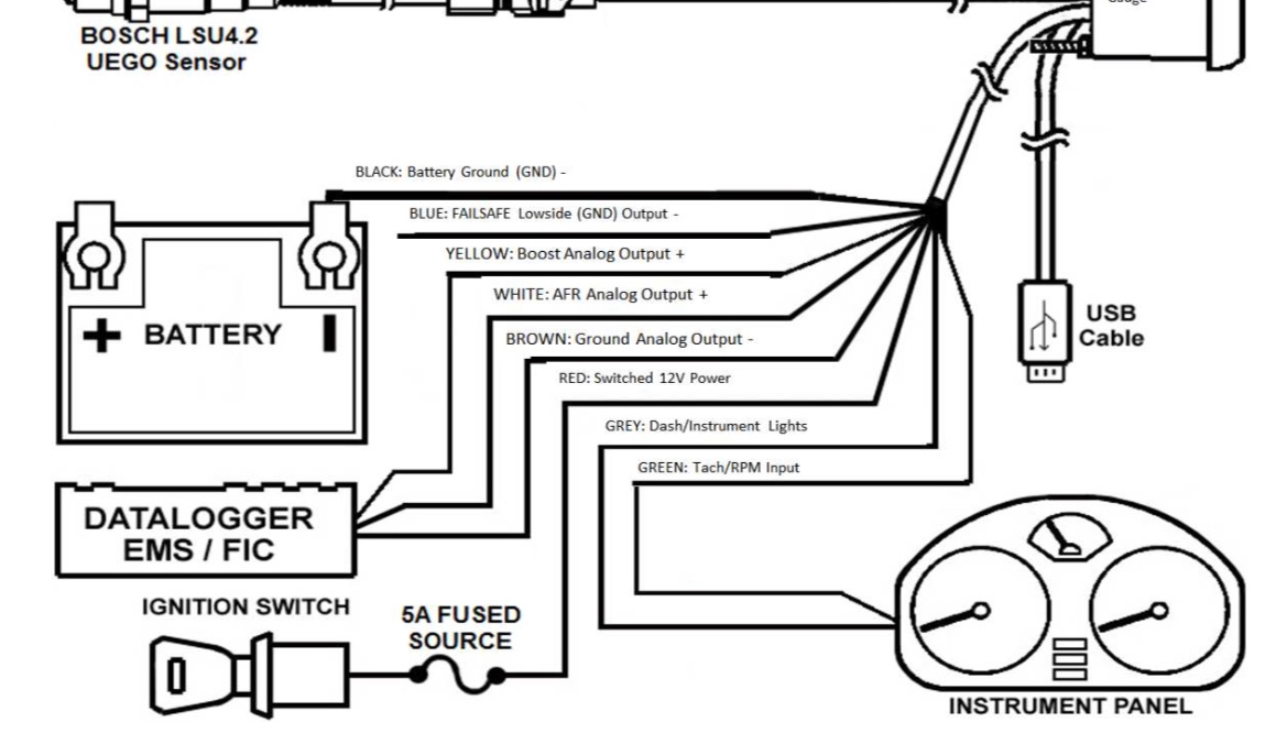 Perfect Aem Wideband Wiring Diagram Ideas - The Wire - magnox.info