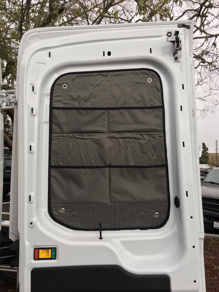 2017 Ford Transit 350 Wagon >> Insulated Window Covers - Ford Transit USA Forum