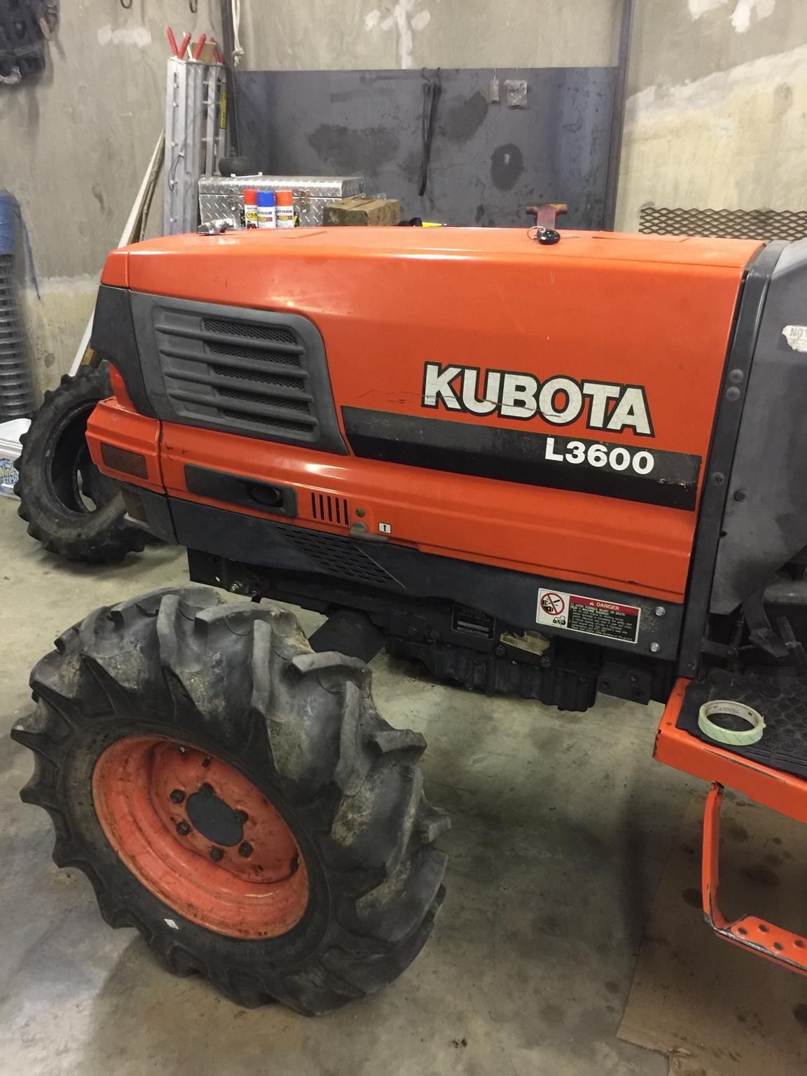 Kubota Front Wheels : New shoes l orangetractortalks everything kubota