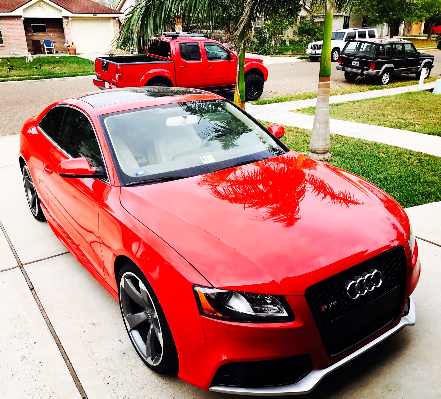 Audi A5 Lease Price: My Brillian Red