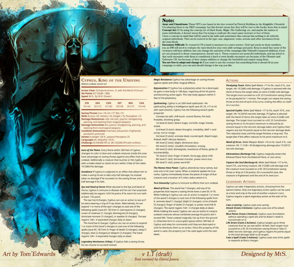 5E - Lich Phylactery | Page 2 | Morrus' Unofficial Tabletop