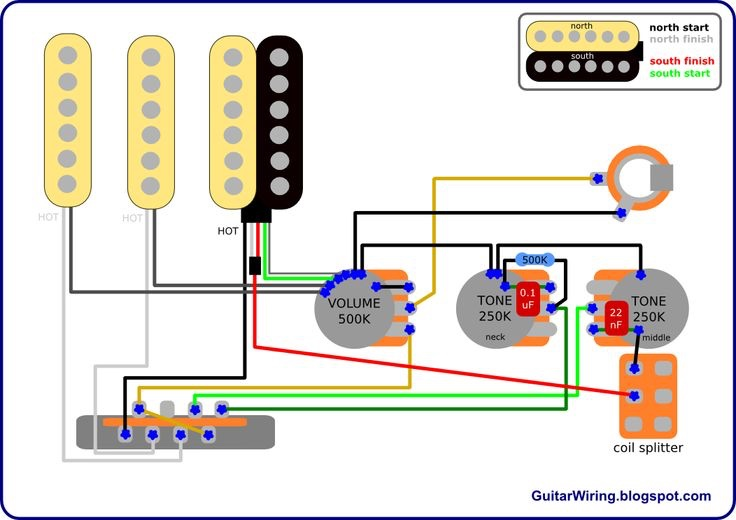 Showthread on guitar selector switch schematic diagram