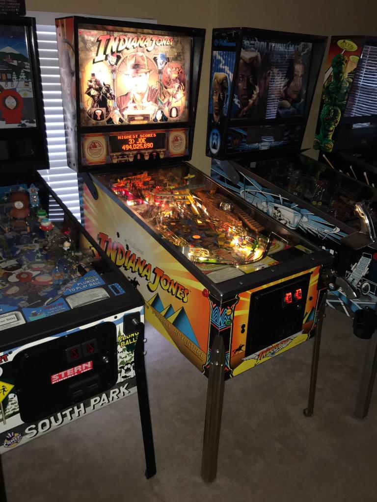 FS Game: Williams Indiana Jones: The Pinball Adventure in Reno NV