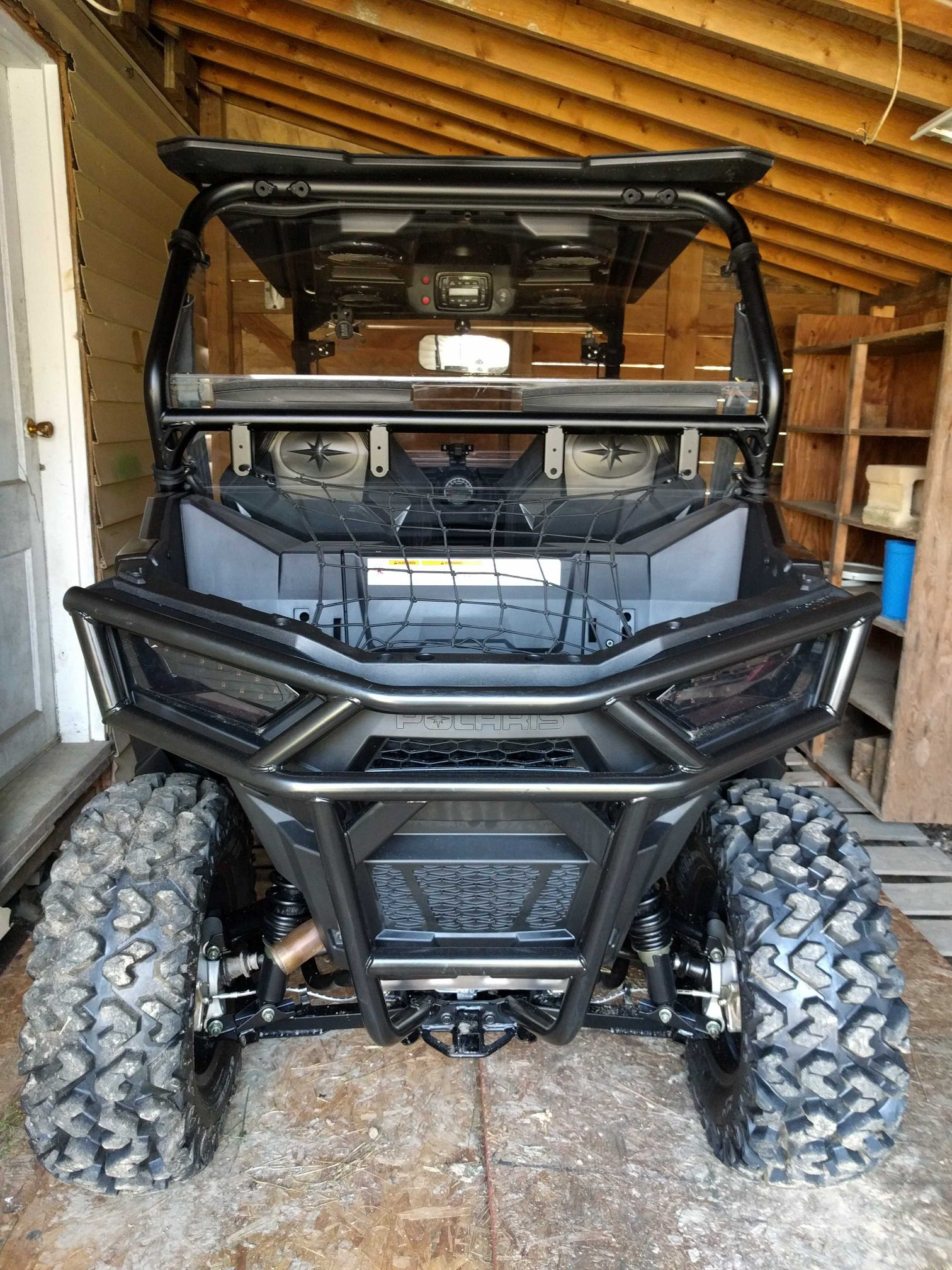Blacked Out Rzr >> Polaris RZR Forum - RZR Forums.net - What did you do to your 900 trail today