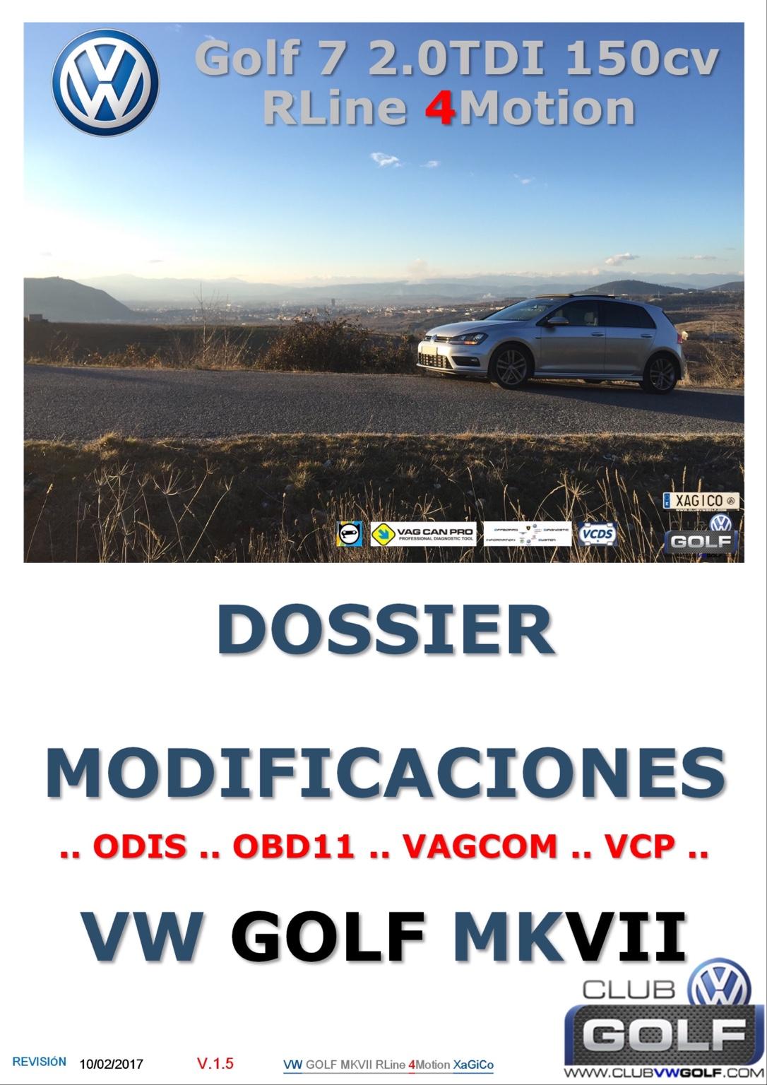 TUTORIAL MODS VW GOLF MKVII - Modifying your Golf R MK7