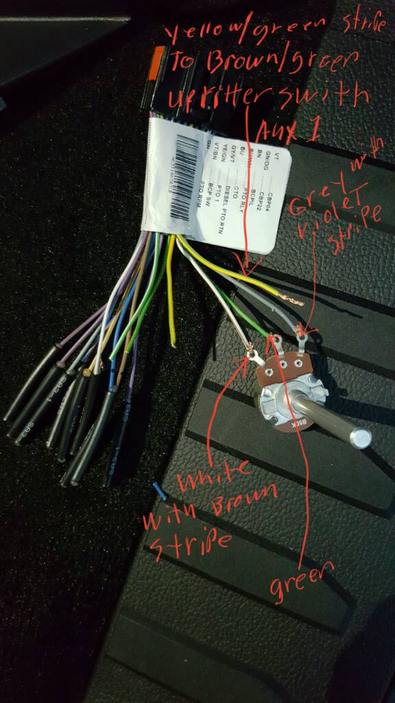 2019 F250 Upfitter Switch Wiring