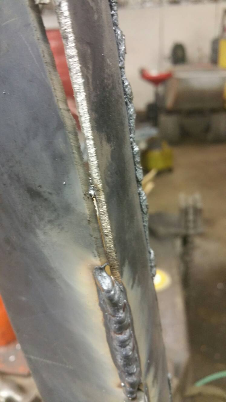 What is the secret to uphill MIG?