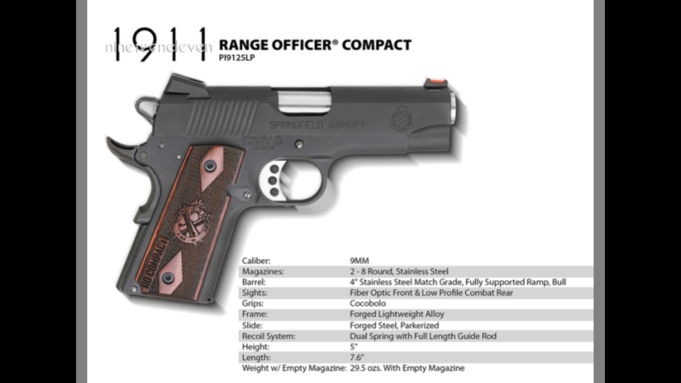 Offices frame 9mm - 1911Forum