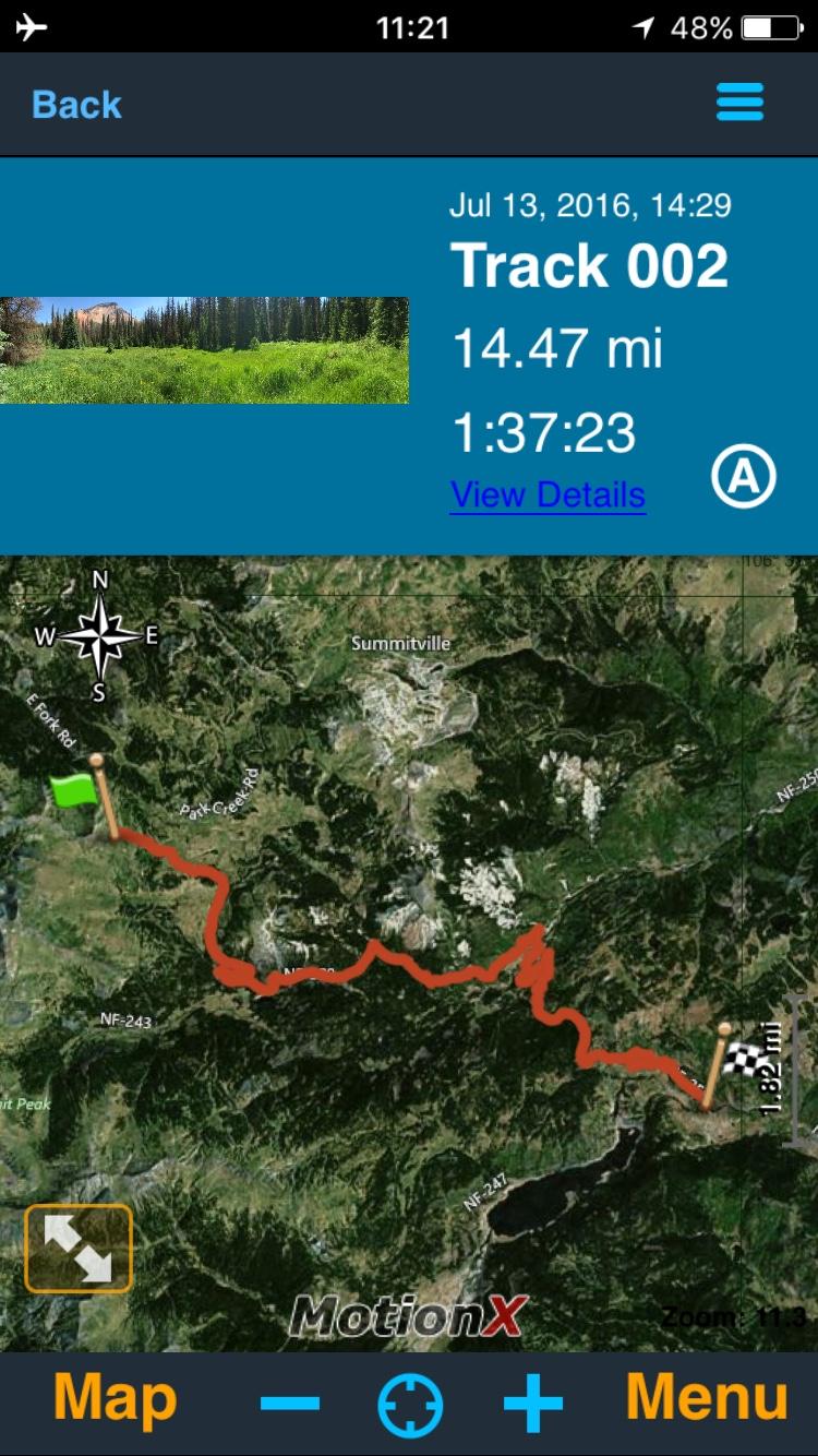 GPS Apps Vs Standalone GPS Saddlehuntercom - Onx map app