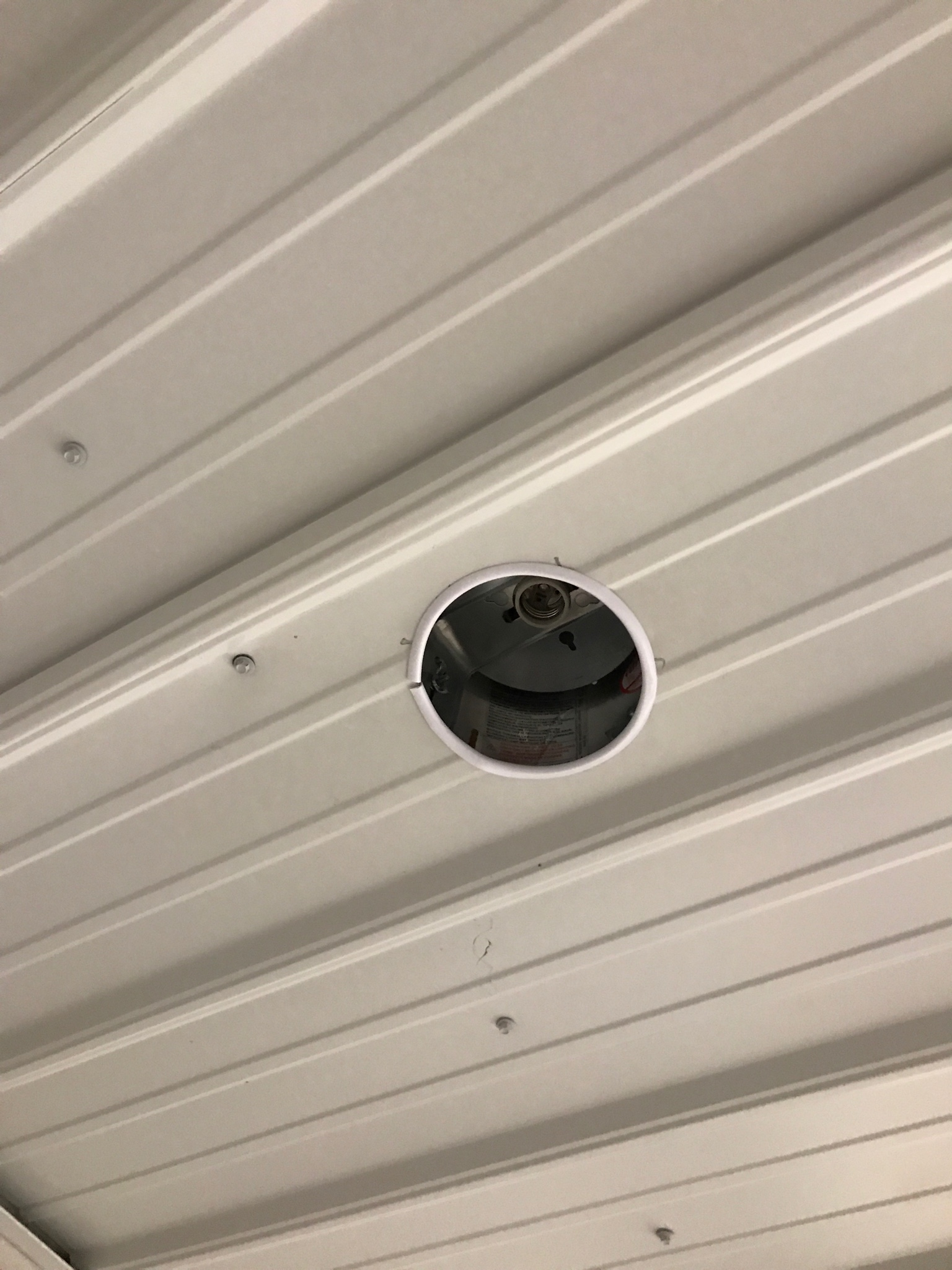 Metal Roofing For Ceilings Archive The Garage Journal Board Steel Building Wiring Idea