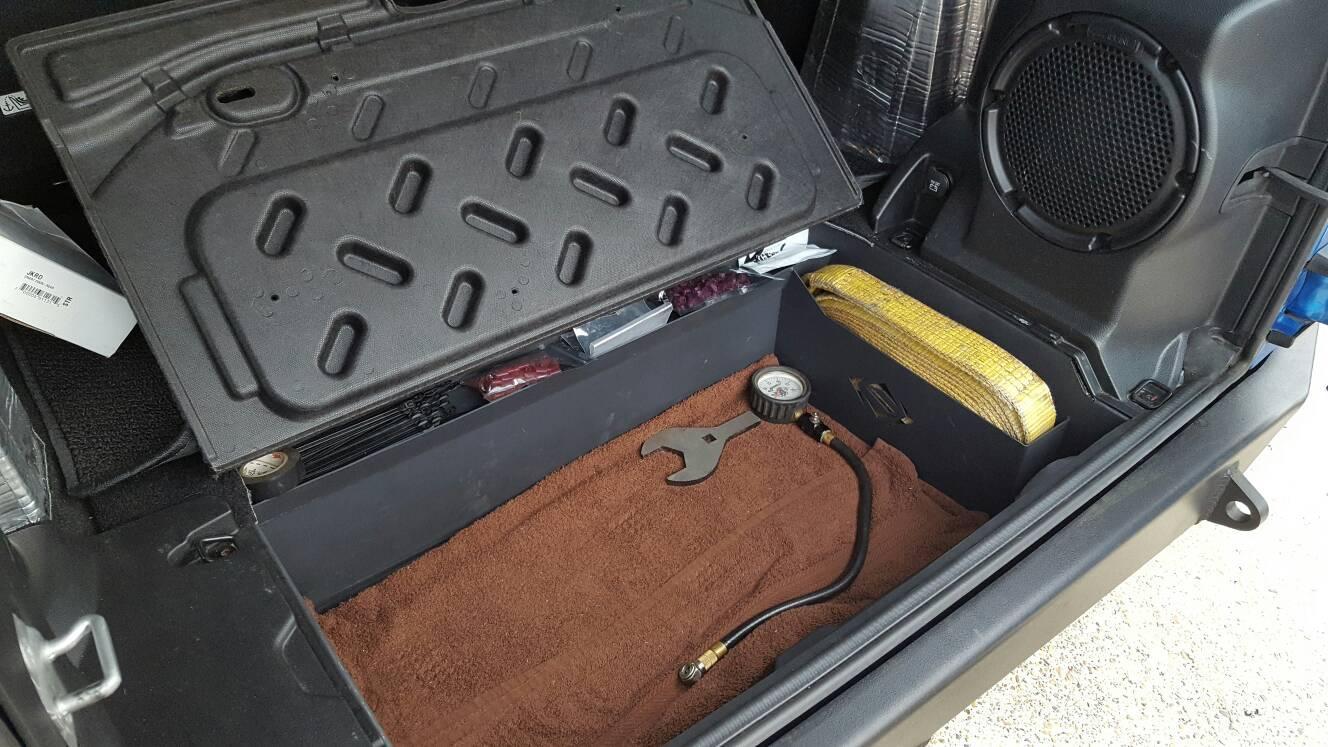Diy Bigger Storage Tub Jkowners Com Jeep Wrangler Jk Forum