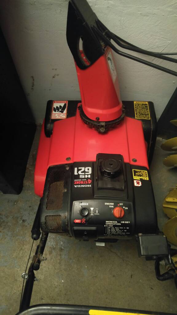 Picked Up My First Honda Blower An Hs621 Page 2