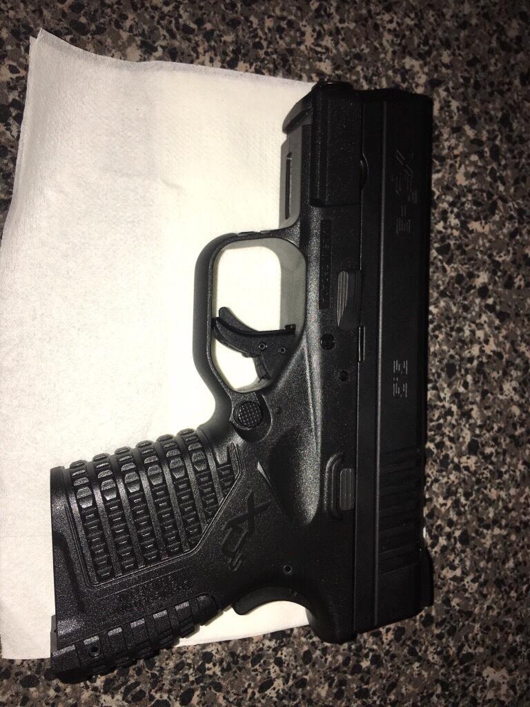 New gun [emoji16] Springfield xds 9 -- need holster
