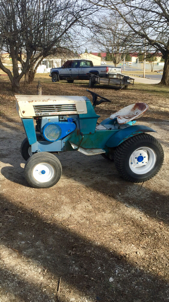 Sears Ss12 Garden Tractor : Sears ss hydro trac craftsman tractor