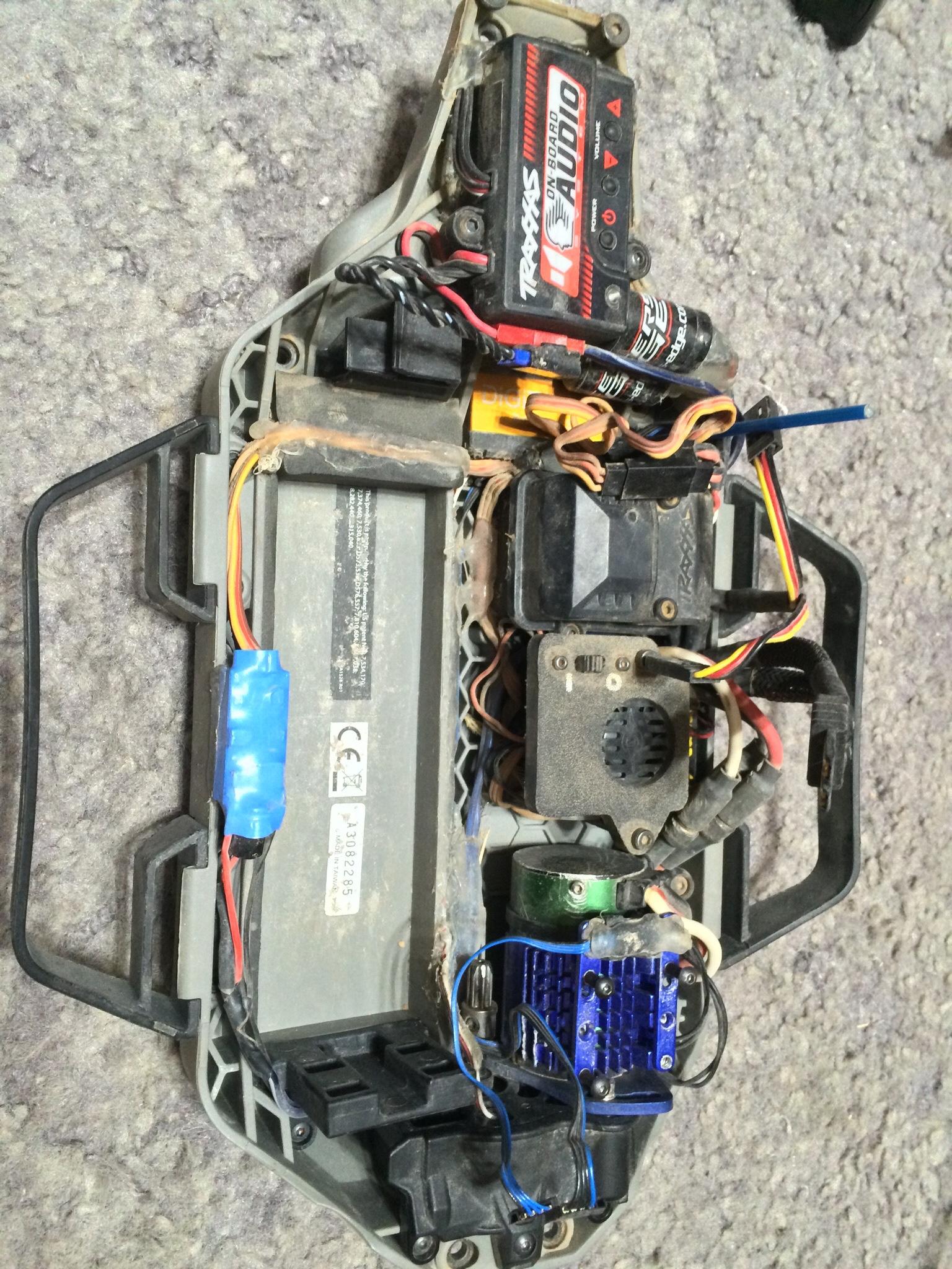 My new setup with the Mamba X & 3800kv sensored motor