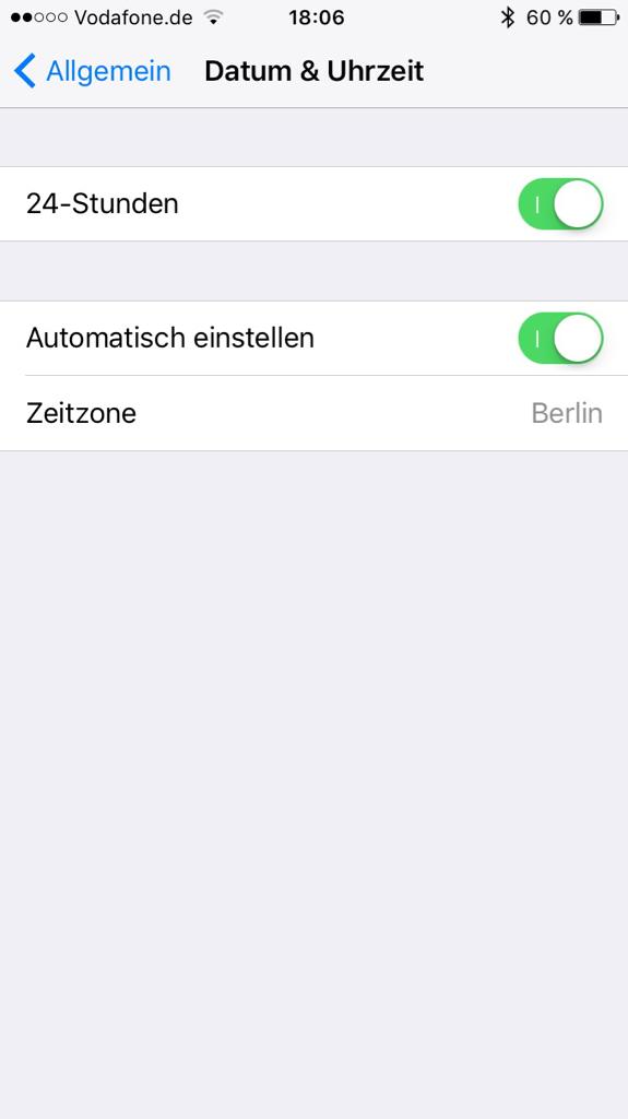 Uhr Iphone Geht Falsch