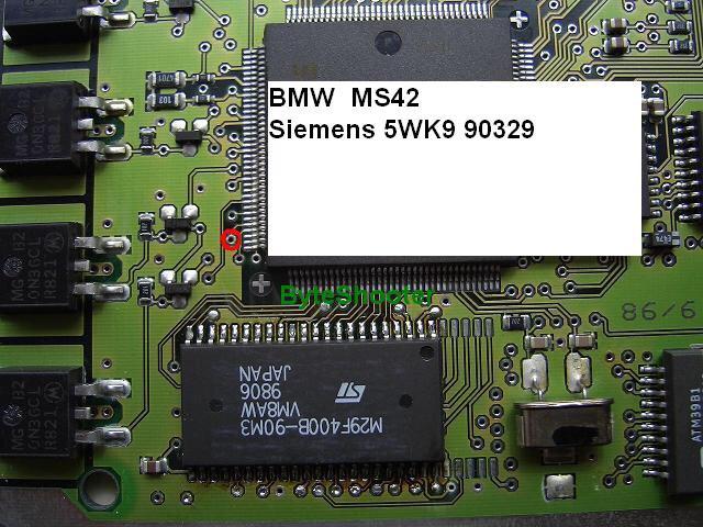 Read/Write 512kb on Ms42