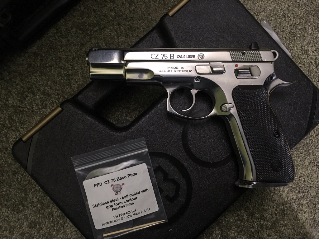 Dressed up my CZ 75 Polished a