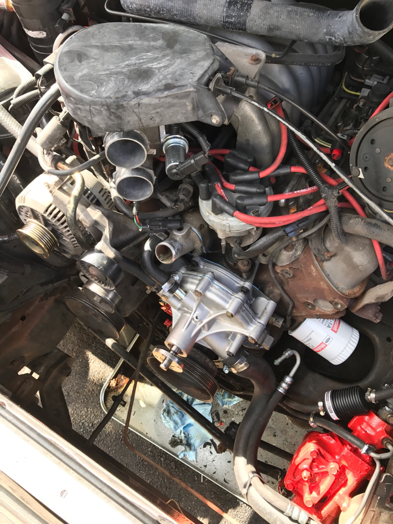 In over my head?!? Water pump/timing set replacement - Ford
