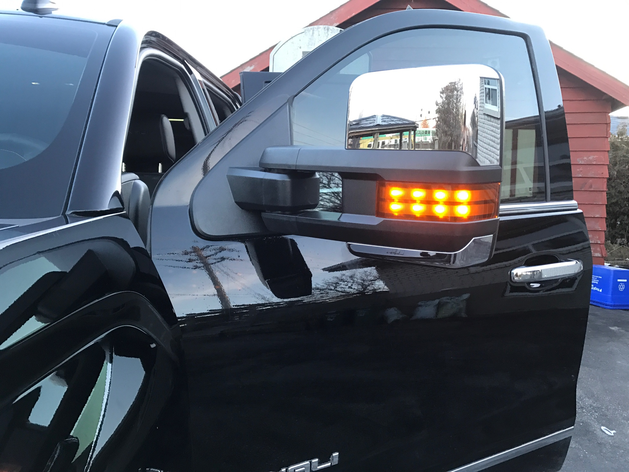 2017 denali power folding tow mirror upgrade