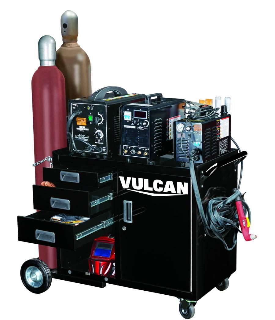 Vulcan large welding cabinet