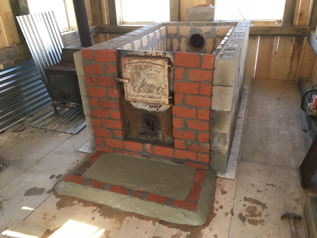 Fire Brick Cement : Homemade cement block and fire brick arch page