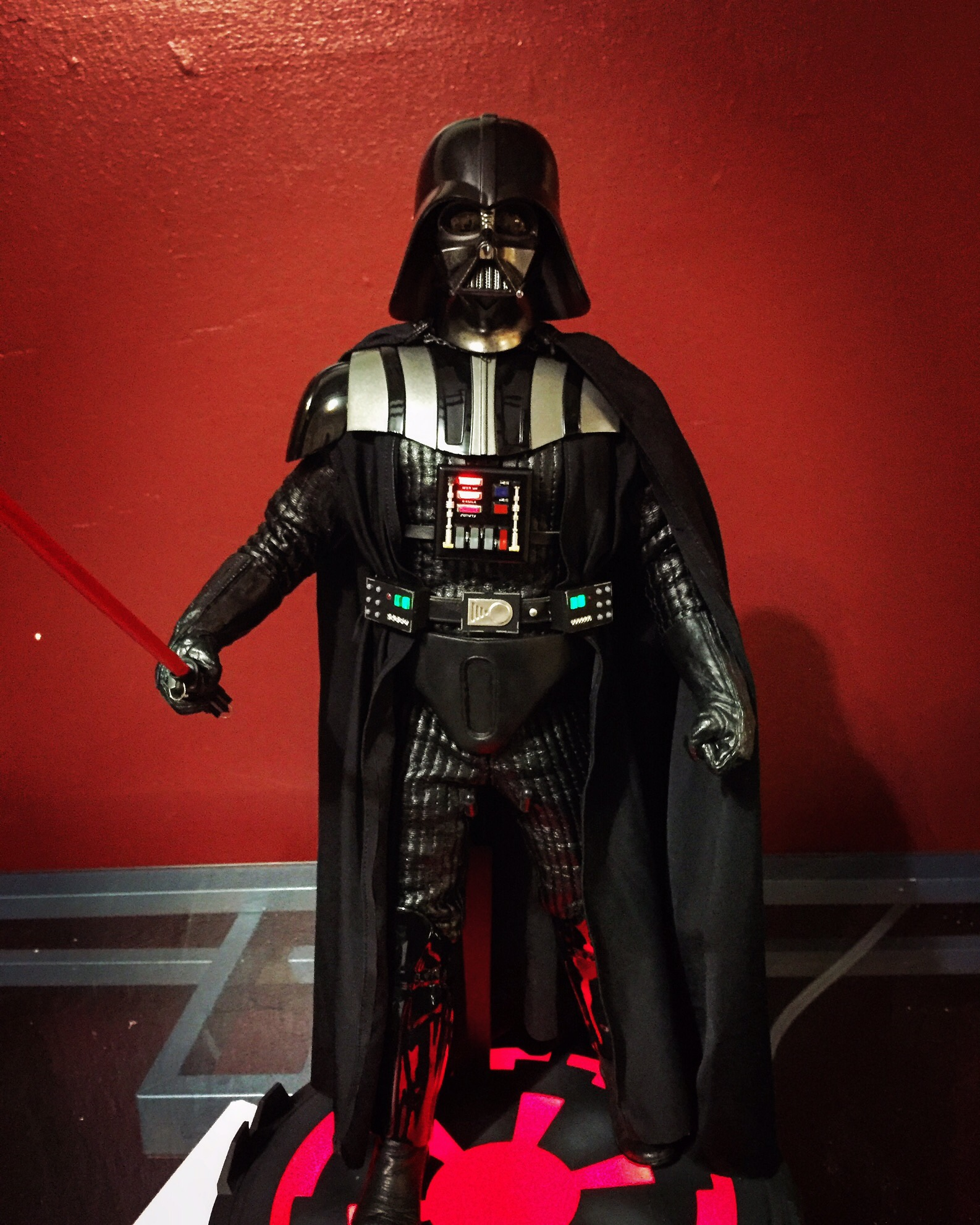 Sideshow 1//6 Darth Vader Tunic from Return of the Jedi Deluxe Edition Figure