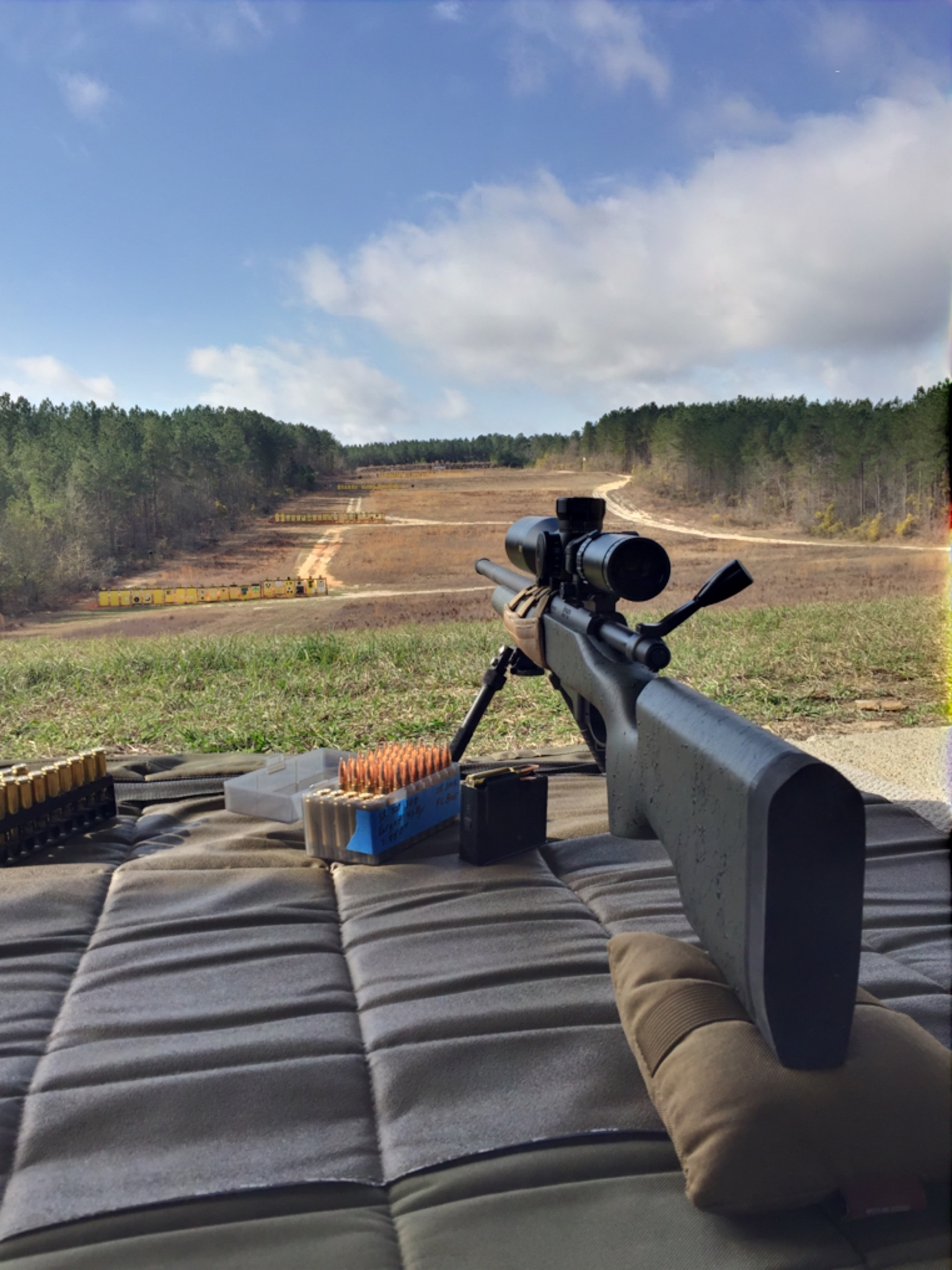 NC/SC - Remington 5r 308, Grayboe Stock, PTG DBM bottom