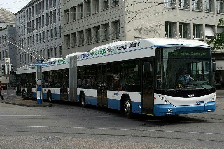 Brisbane bi-articulated bus ' Metro ' Plan