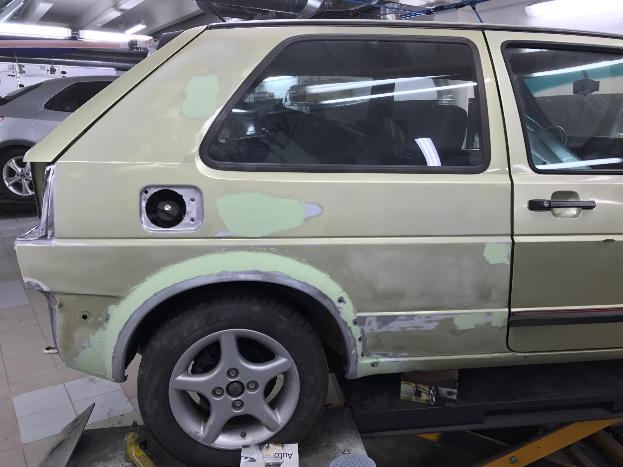 vwvortex com my 1986 golf mk2 3 doors gti 16v kr racing green rh forums vwvortex com 1992 VW GTI 16V Rally Car VW GTI 16V Samco Sport