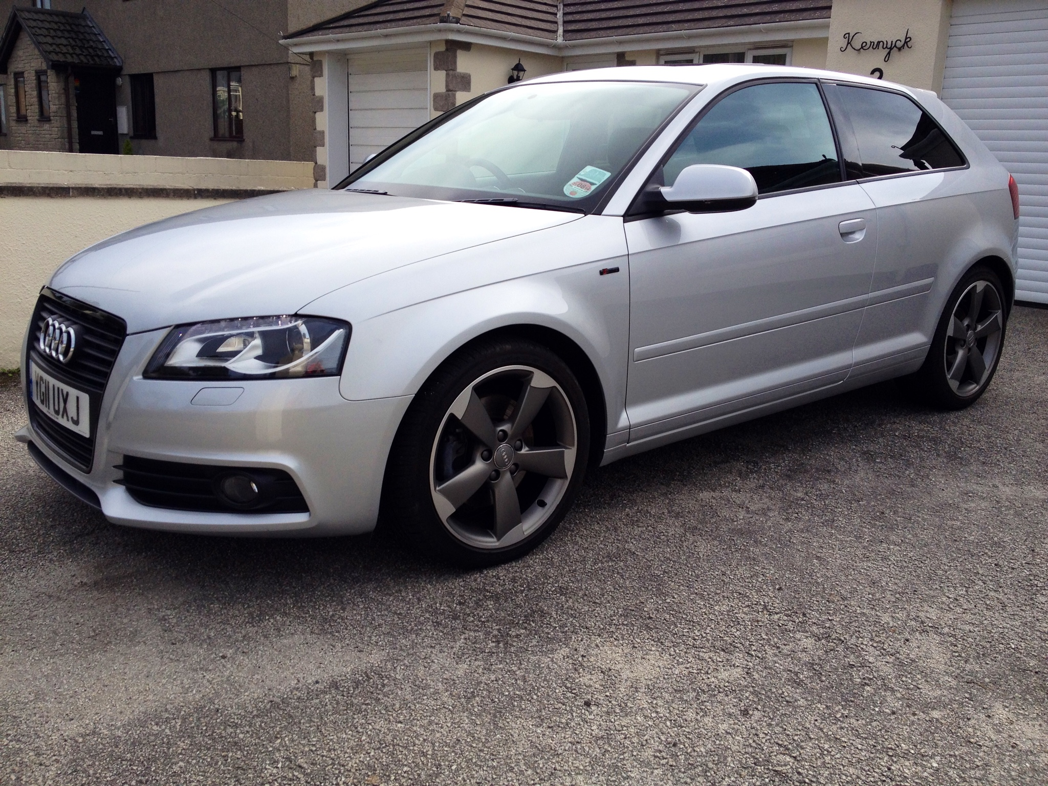 Sold Audi A3 S Line Black Edition 2 0 170 S Tronic 2011