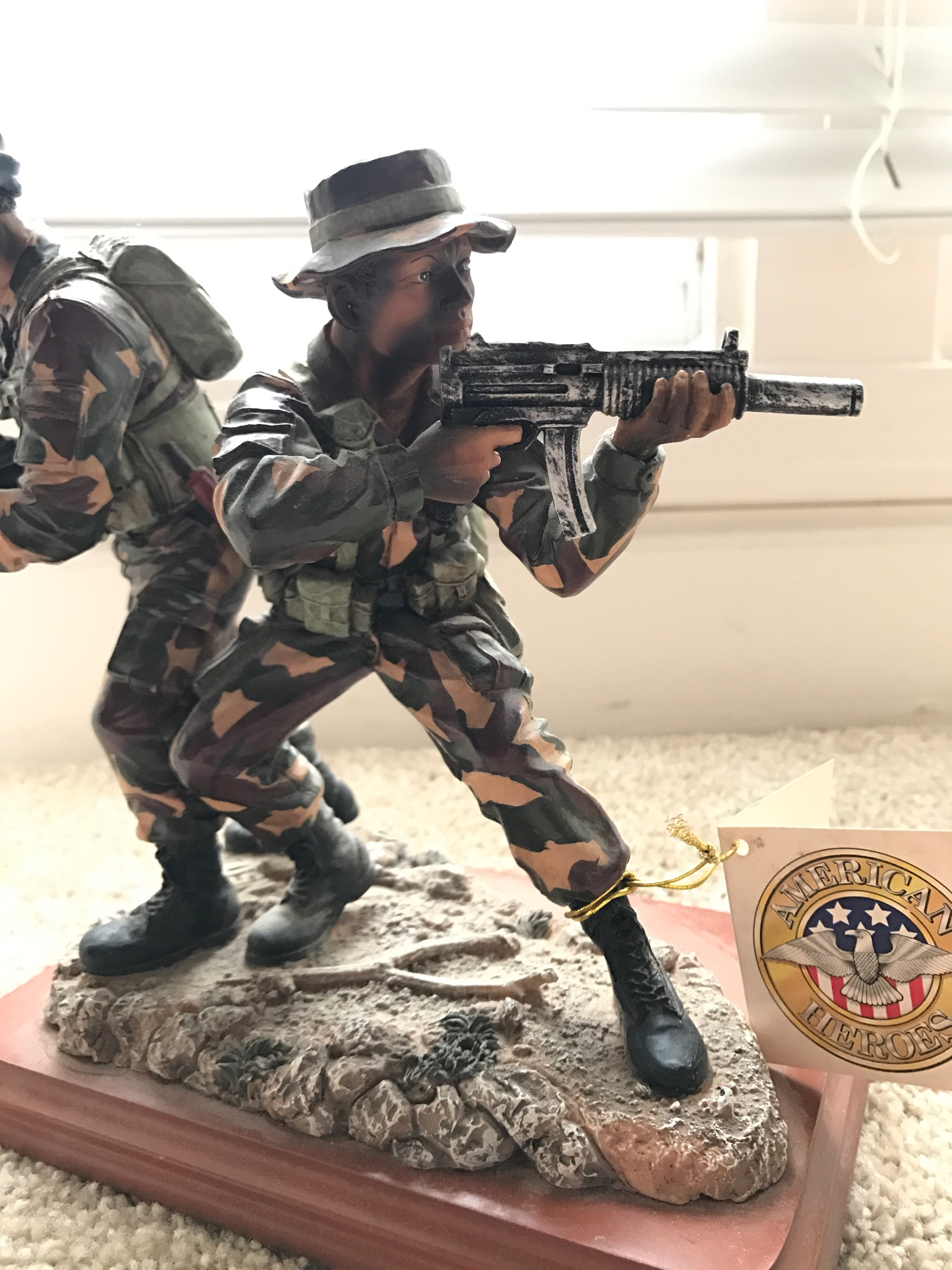 80s Swat Guy With Mp5 Statue Cool Antique Store Find Page 5 What An Interesting Thread Heres A Little Ive Owned For Few Years It Depicts Navy Seals