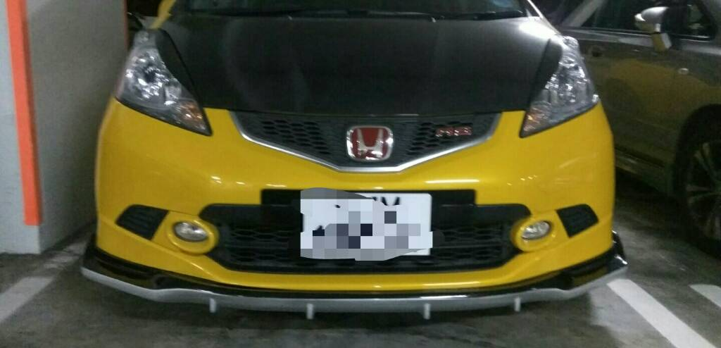 Spoon Frp Front Lower Lip GE6/GE8 FIT/JAZZ • Singapore Honda Club