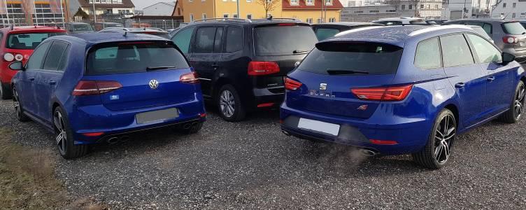 Bh S Mystery Blue Mk3 Seat Leon Cupra 300 5 Door Audi