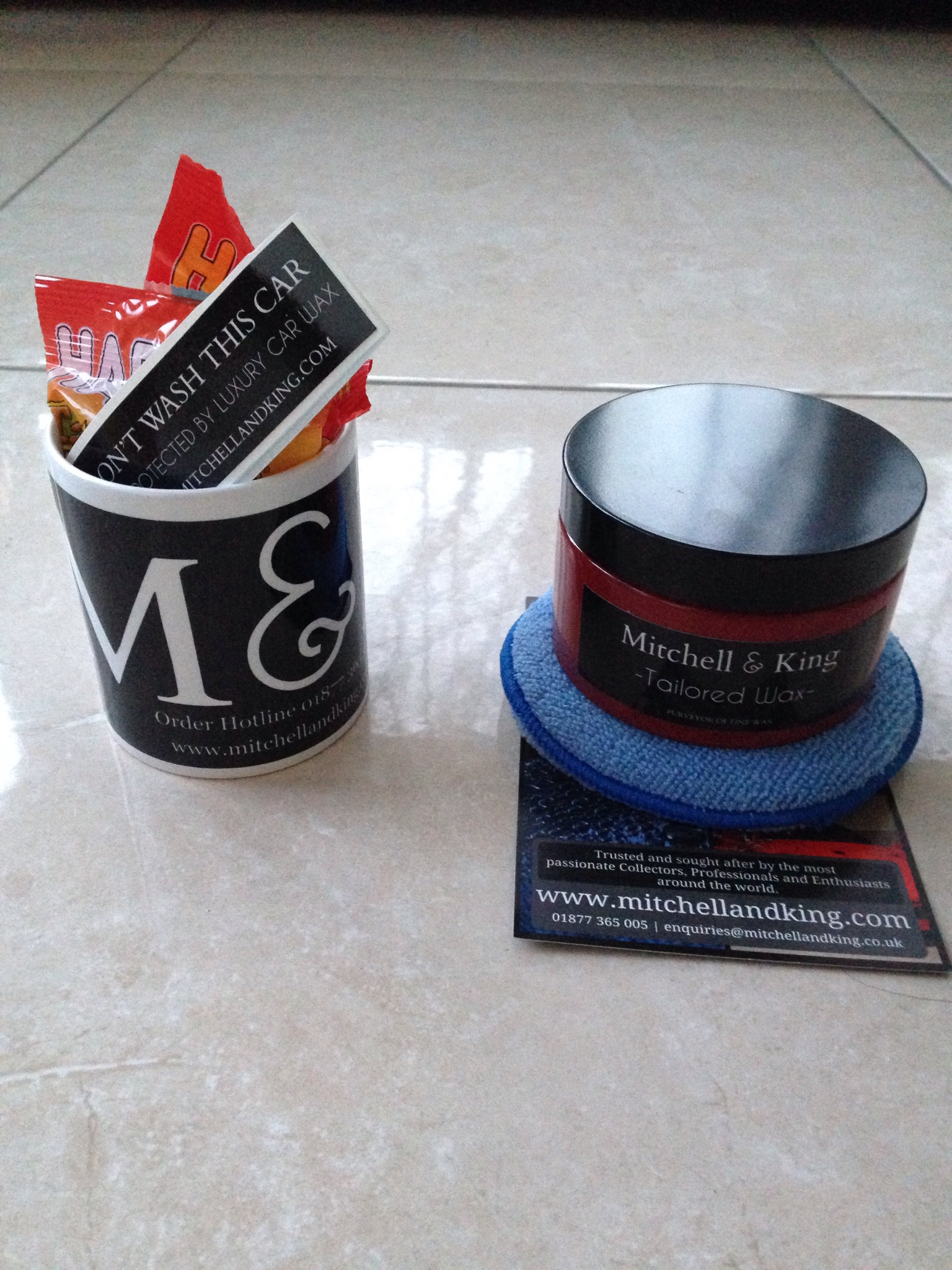 Days Of Xmas Mitchell King Winter Show Car Wax Review - Show car wax