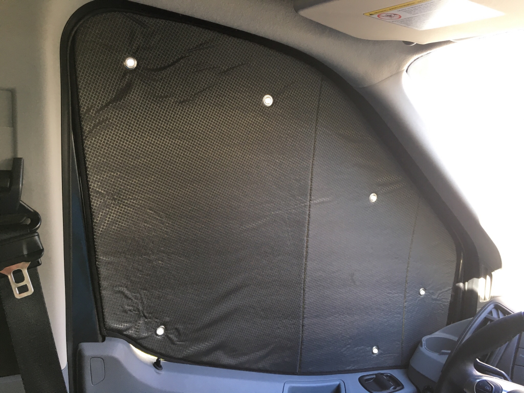 Insulated Window Covers Page 3 Ford Transit Usa Forum